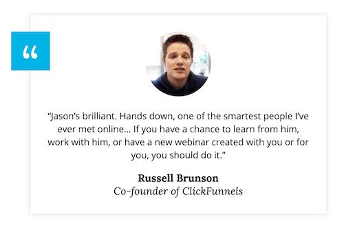Russell Brunson Testimonial