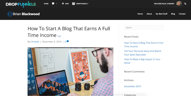 The Overall Theme of The Blog