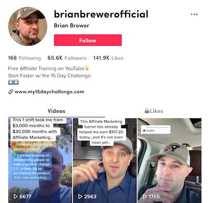 Brian Brewer Tik Tok