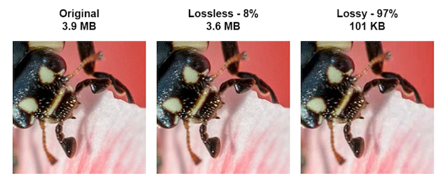 Compress images