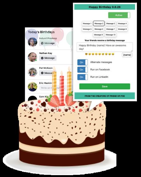 Happy Birthday software