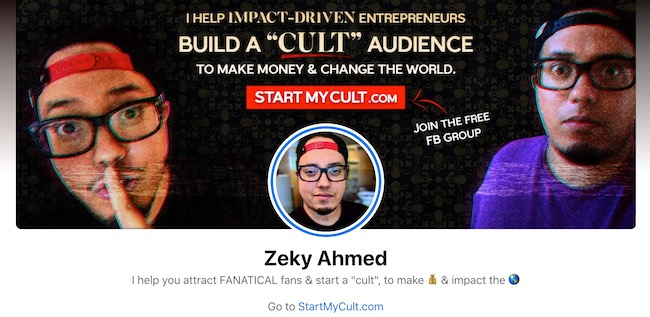 Zeky FB Profile