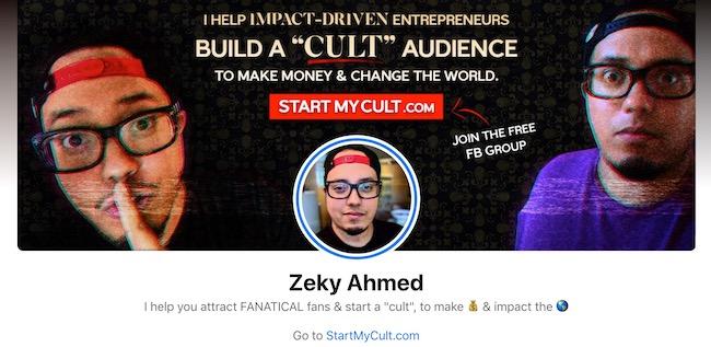 Zeky FB Profile