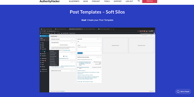 Setting up posts & Pages