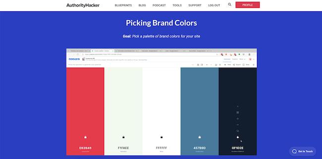 Branding your site