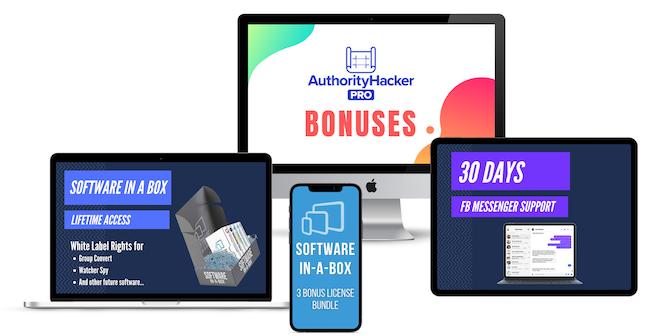 Authority Hacker Pro Bonus Bundle