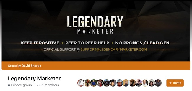 Legendary Marketer community