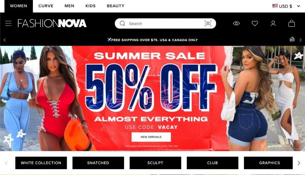 Fashionova on Shopify