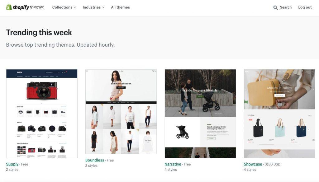 Shopify Electronics Store Themes