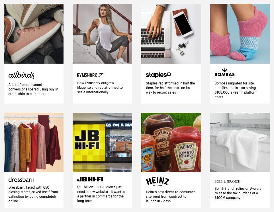 Shopify Plus Brands